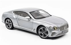BENTLEY CONTINENTAL GT 2018 PLATEADO