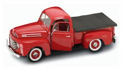 FORD F-1 PICK UP 1948 ROJA