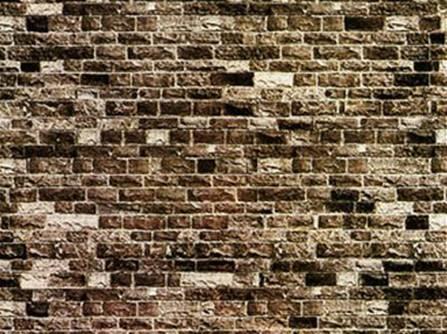 Placa Muro Piedra En Papel Carton 64 X 15 Cm - Muro-piedra