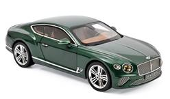 BENTLEY CONTINENTAL GT 2018 VERDE METALIZADO