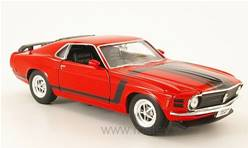 FORD MUSTANG BOSS 302 1970 ROJO
