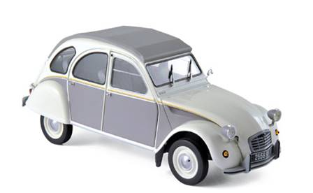 CITROEN 2CV DOLLY 1985 CREMA Y GRIS