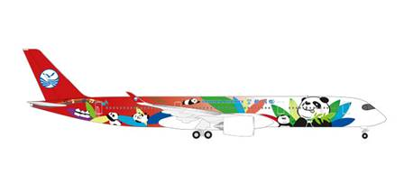 AIRBUS A350-900-(F-WFFK) B SICHUAN AIRLINES (13,4 cm)