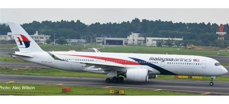 AIRBUS A350-900 MALAYSIA AIRLINES (13,4 cm)