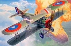 FIGHTER AIRCRAFT SPAD XIII ESCALA 1/28