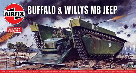 ANFIBIO LVT BUFFALO & JEEP WILLYS
