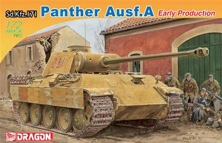 PANTHER AUSF.A Sd.Kfz.171 EARLY PRODUCTION