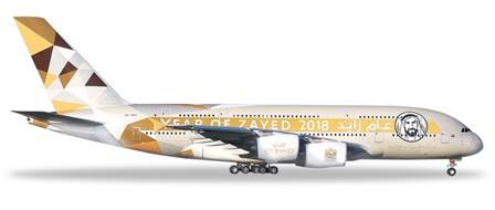 AIRBUS A380 ETHAD AIRWAYS YEAR OF ZAYED (14,5 cm)