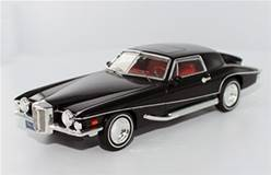 STUTZ BLACKHAWK COUPE 1971 NEGRO