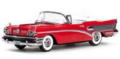 BUICK SPECIAL CONVERTIBLE 1958 ROJO