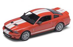FORD MUSTANG SHELBY GT 500 2007 ROJO/BLANCO