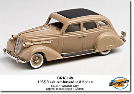 NASH AMBASSADOR EIGHT SEDAN