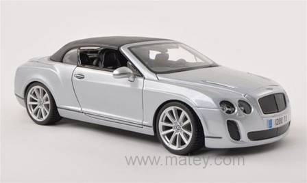 BENTLEY CONTINENTAL SUPERSPORTS PLATA