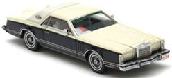 LINCOLN CONTINENTAL MARK V AZUL/BEIS (RESINA)