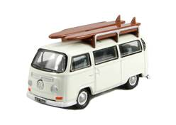 VW T2 BLANCA CON TABLAS DE SURF
