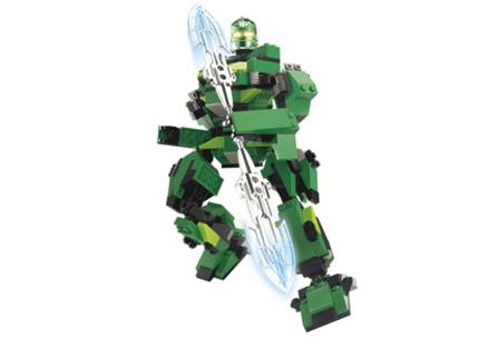 ULTIMATE ROBOT GREEN