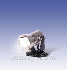 REFLECTOR DE BASE CON LED LUZ BLANCA (1 cm)