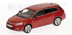 OPEL ASTRA SPORTS TOURER 2011 ROJO