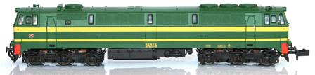 RENFE LOCO DIESEL 333.037.0 VERSION ORIGINAL VERDE/AMARILLA (DIGITAL)