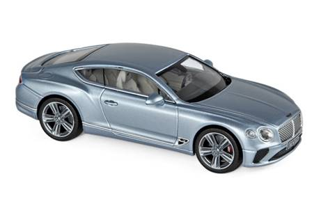 BENTLEY CONTINENTAL GT 2018 PLATA
