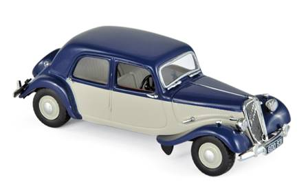 CITROEN LIGHT 15 1949 AZUL Y CREMA