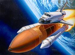 DISCOVERY & BOOSTER ROCKETS