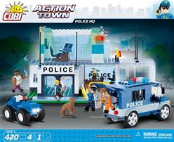 POLICE HQ. ACTION TOWN