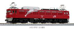 JAPON LOCOMOTORA ELECTRICA EF81 NORTH STAR