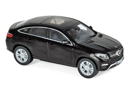 MERCEDES GLE COUPE 2015 NEGRO