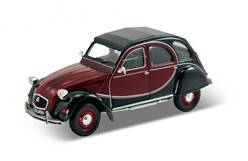 CITROEN 2CV CHARLESTON GRANATE / NEGRO