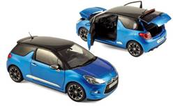 CITROEN DS3 2011 AZUL METALIZADO