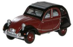 CITROEN 2CV CHARLESTON GRANATE/NEGRO