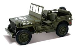 JEEP WILLYS MILITAR USA VERDE