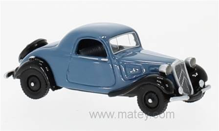 CITROEN TRACTION AVANT FAUX CABRIOLET AZUL