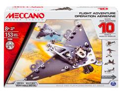 MECCANO FLIGHT ADVENTURE (10 MODELOS PARA CONSTRUIR)