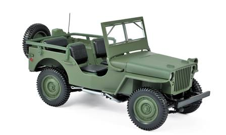 JEEP WILLYS 1942 VERDE