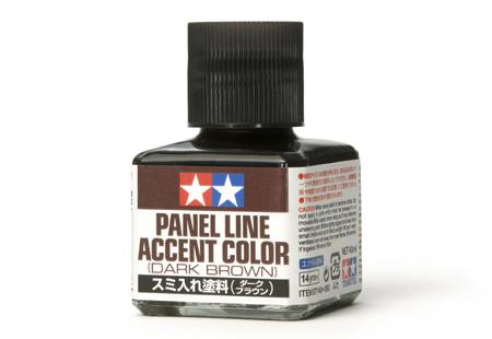 PANEL LINE MARRON OSCURO(40 mL) GRAN FLUIDED DESTACANDO LOS DETALLES